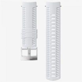 Suunto silikonový velikost M - white/steel (SS050106000)