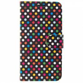 FIXED pro Apple iPhone 5/5S/SE - motiv Rainbow Dots (FIXFIT-002-RAD)