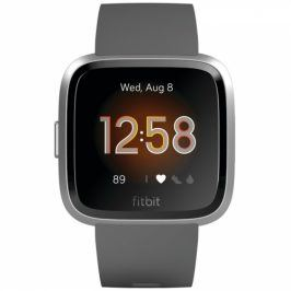 Fitbit Versa Lite - Charcoal Band / Silver Case (FB415SRGY)