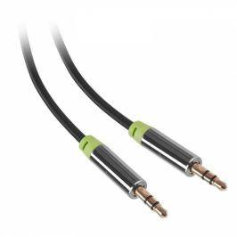 GoGEN Jack 3,5mm, 5m, pozlacené konektory (JACK500MM01)