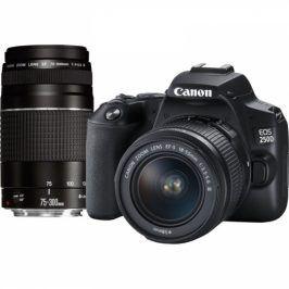 Canon 250D + 18-55 DC + 75-300 DC (3454C016)