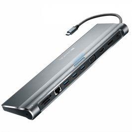 Canyon USB-C/USB3.0 + HDMI + VGA + DVI + RJ45 + 3,5mm Jack (CNS-HDS09DG)