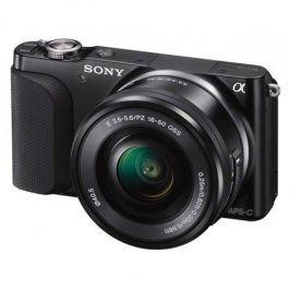 Sony NEX-3NLB, černý + objektiv SELP1650 (NEX3NLB.CE)