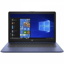 HP 14-ds0010nc modrý + MS Office 365 pro jednotlivce (7JY38EA#BCM)