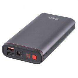 GND 20000 mAh, displej, USB-C PD 18W, metalická (PB200001SG)