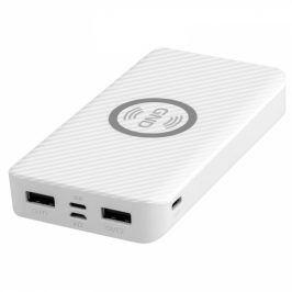 GND 10000 mAh, bezdrátové nabíjení 5W, USB-C, Lightning (PB100003W)