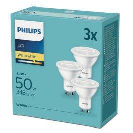 Philips bodová, 4,7W, GU10, teplá bílá (3ks) (8718696829110)