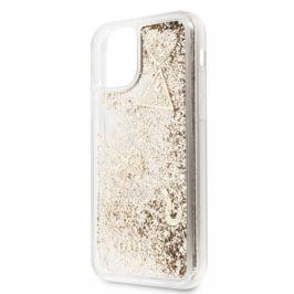 Guess Glitter Hearts pro Apple iPhone 11 (GUHCN61GLHFLGO)