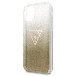 Guess Solid Glitter pro Apple iPhone 11 (GUHCN61SGTLGO)
