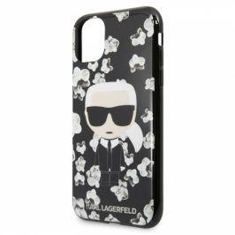 Karl Lagerfeld Flower pro Apple iPhone 11 (KLHCN61FLFBBK)