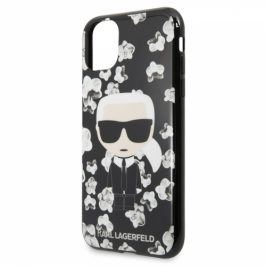 Karl Lagerfeld Flower na Apple iPhone 11 Pro (KLHCN58FLFBBK)