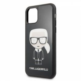 Karl Lagerfeld Glitter Iconic Body na Apple iPhone 11 (KLHCN61LFKBK)