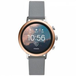 Fossil Venture HR - Gray Silicone (FTW6016)
