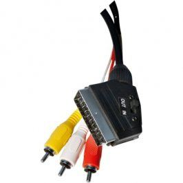 EMOS SCART / 3x Cinch, 1,5m