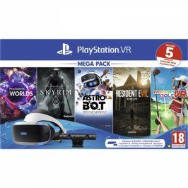 Sony + kamera + 5 her (VR Worlds, Skyrim, Resident Evil 7, Everybodys Golf, Astrobot) (PS719999102)
