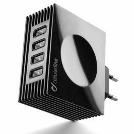 CellularLine Quad Ultra 4 x USB, 21W/4.2 A (ACHUSBQUAD4AK)