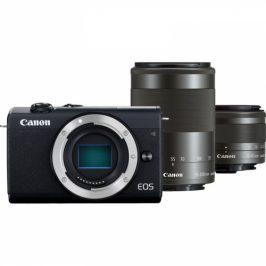 Canon M200 + EF-M 15-45 IS STM + EF-M 55-200 IS STM (3699C018)