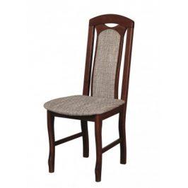 Jídelní židle Set 18 hnědá, šedá