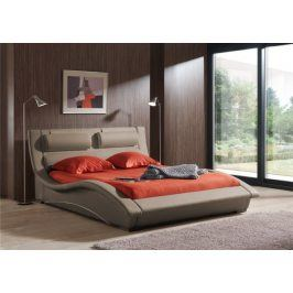 Postel BETTY - 160x200 (taupe-white, sk. II)
