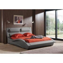 Postel BETTY - 160x200 (light grey-white, sk. III)