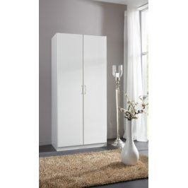 Sprint - skříň 198x90 cm,2x dveře (alpská bílá)