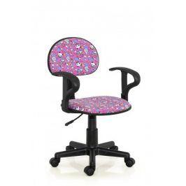 Alfred - dětská židle (růžový)