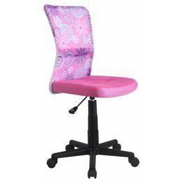 Dingo - dětská židle (růžová)