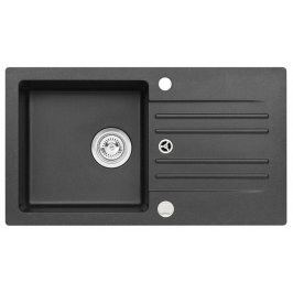 Dřez Caprin - 130/91 Foxtrot (granit, černá)