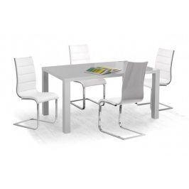 Jídelní stůl Ronald - 120x80 cm (šedý lak)