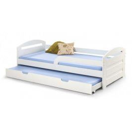 Postel Naty 90x200, bílá, bez matrace