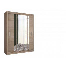 Šatní skříň Star - 150/215/61 (sonoma)