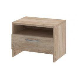 Noční stolek UNO - typ NS (dub bardolino)