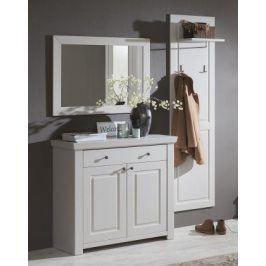 Domi - Kombi 59, zrcadlo, komoda 1 zásuvka, 2 dveře, šatní panel