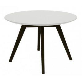 Konferenční stolek Lola Bess - bílá, černá (9317-024+9366-001)