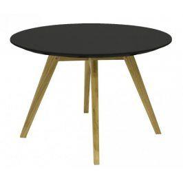 Konferenční stolek Lola Bess - černá, dub (9317-054+9366-024)