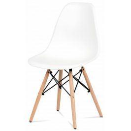 Mila - Jídelní židle bílá
