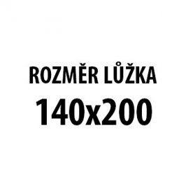 Monika - Rám postele 200x140cm, rošt