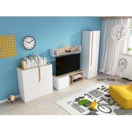 TV stolek+polička Bubu