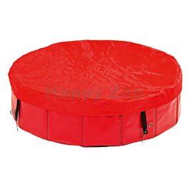 Krycí plachta na bazén pro psy FLAMINGO Doggy Pool červená 160cm