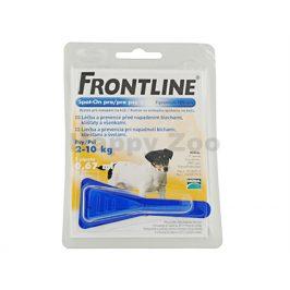 FRONTLINE Spot-on Dog (S) 1x0,67ml (pro psy 2-10kg)