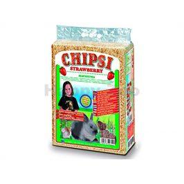 JRS CHIPSI hoblinová podestýlka jahoda 60l