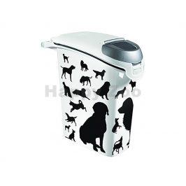 CURVER plastový barel na krmivo pro psa 10kg (23l)