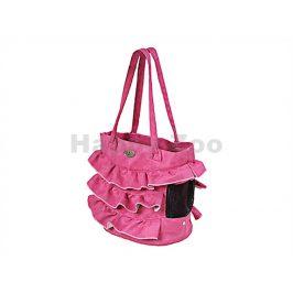 Taška O´LALA PETS London 30cm růžová