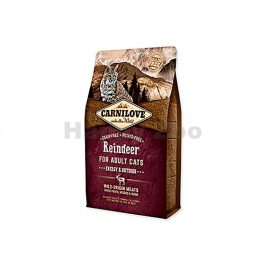 CARNILOVE Cat Reindeer for Adult Cats Energy and Outdoor 2kg