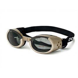 Sluneční a ochranné brýle pro psy DOGGLES ILS Chrome (L)