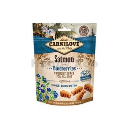 CARNILOVE Dog Crunchy Snack Salmon with Blueberries 200g