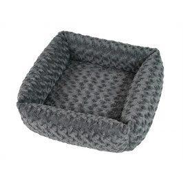 Pelech O´LALA PETS Cube 53x53cm šedý