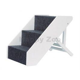 Schody TRIXIE nastavitelné s plstěným vzhledem 40x67cm