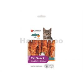 FLAMINGO Cat Snack Dried Fish & Chicken 50g