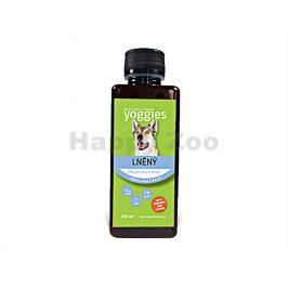 YOGGIES lněný olej pro psy a kočky 250ml